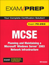 MCSE 70-293 Exam Prep (eBook)
